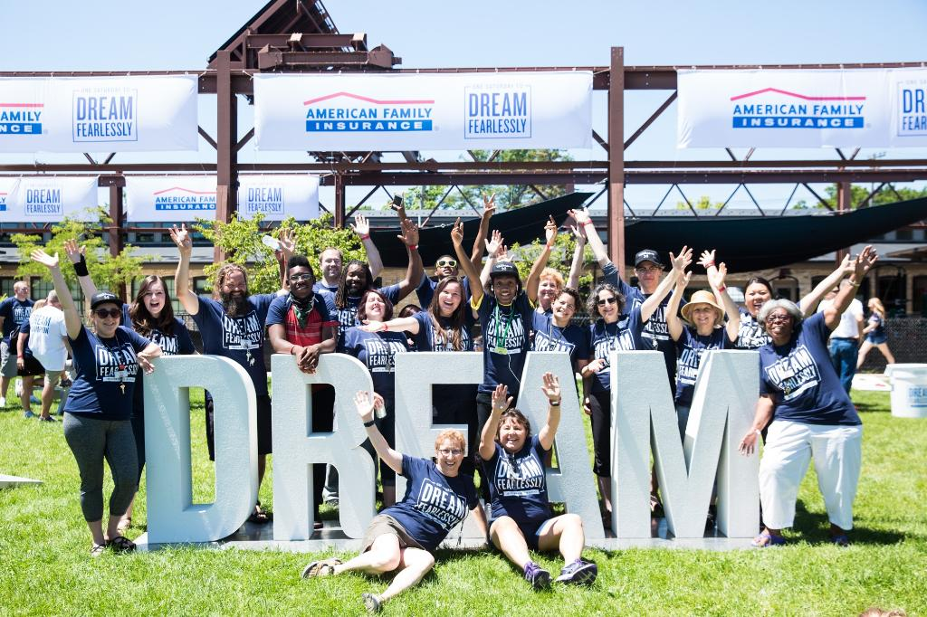 Proud to say I work for @AmFam! We introduced Free to Dream, a $105 million commitment during the next five years to continue our work to help close equity gaps and improve the quality of life for communities.   #iWork4AmFam