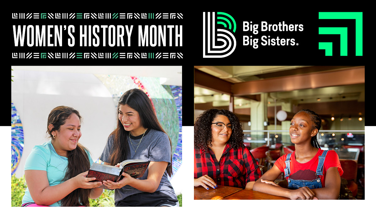 It's Women's History Month. Who is a woman who has inspired you?  #WomensHistoryMonth  #BBBS