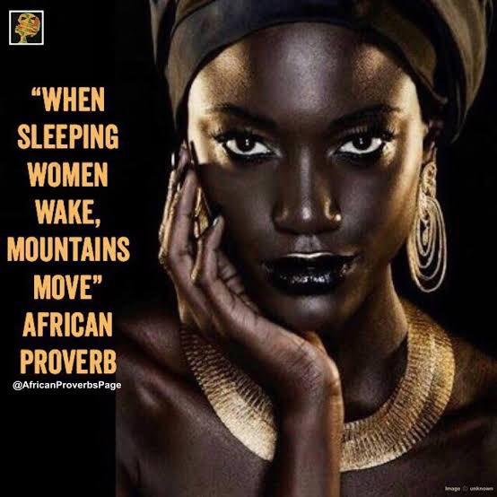 When sleeping women wake, mountains move. - African Proverb #qotd #quoteoftheday #quote #inspirationalquotes #poetry #wordsofwisdom #thoughts #africanproverb #women #Entrepreneur #motivationalmonday #motivation #motivationalquotes
