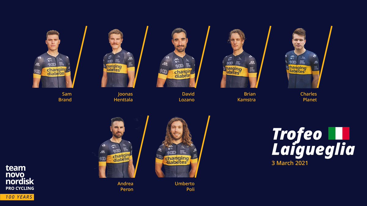 Team Novo Nordisk will start the 2021 season @il_Laigueglia on Wednesday. Heres the full preview: buff.ly/2NOZ5FB