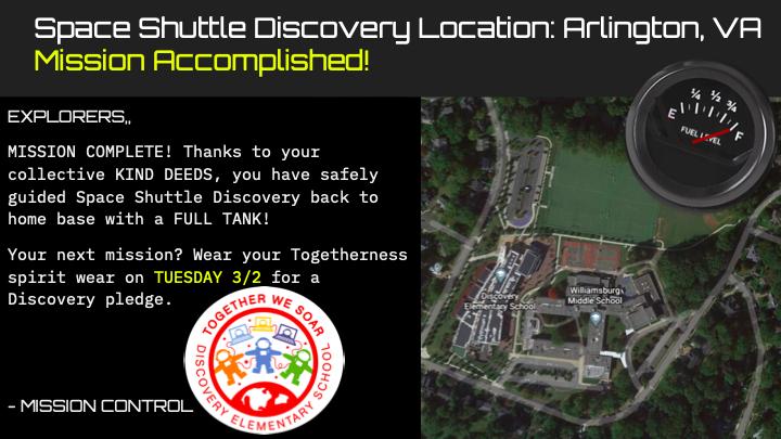 Не забудьте завтра надеть свою духовную одежду единения. Вместе мы парим!DiscoveryAPS'> @DiscoveryAPS <a target='_blank' href='http://twitter.com/DiscoveryESPTA '> @DiscoveryESPTA https://t.co/BKE6XBzwU9