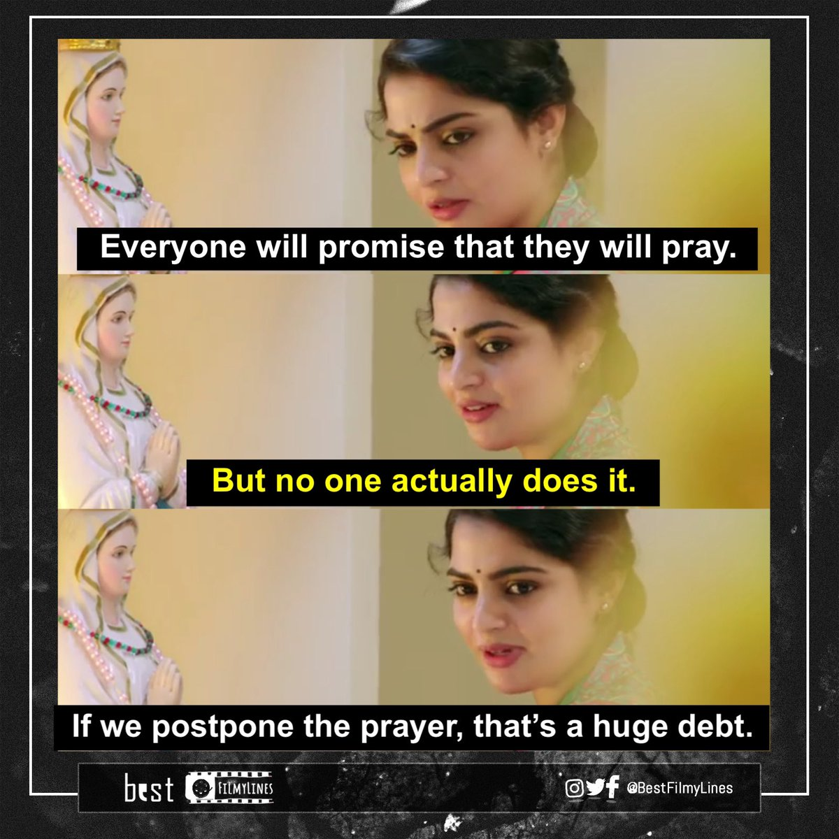 -Oru Yamadan Prema Kadha (2019), dir. B.C. Noufal . . #oruyamadanpremakadha #nikhilavimal #dulquersalmaan #malayalam #malayalamcinema #malayalammovie #malayalamquotes #mollywood #indiancinema #dialogue #dialogues #moviequotes #quote #quotes #bestfilmylines