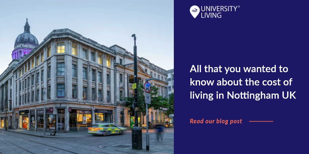 Heading to Nottingham for higher education? Read our latest blog post to know about the cost of living in Nottingham UK. Read here:  #nottingham #studyabroad #mondaythoughts #Mondayvibes #unitedkingdom #universityliving