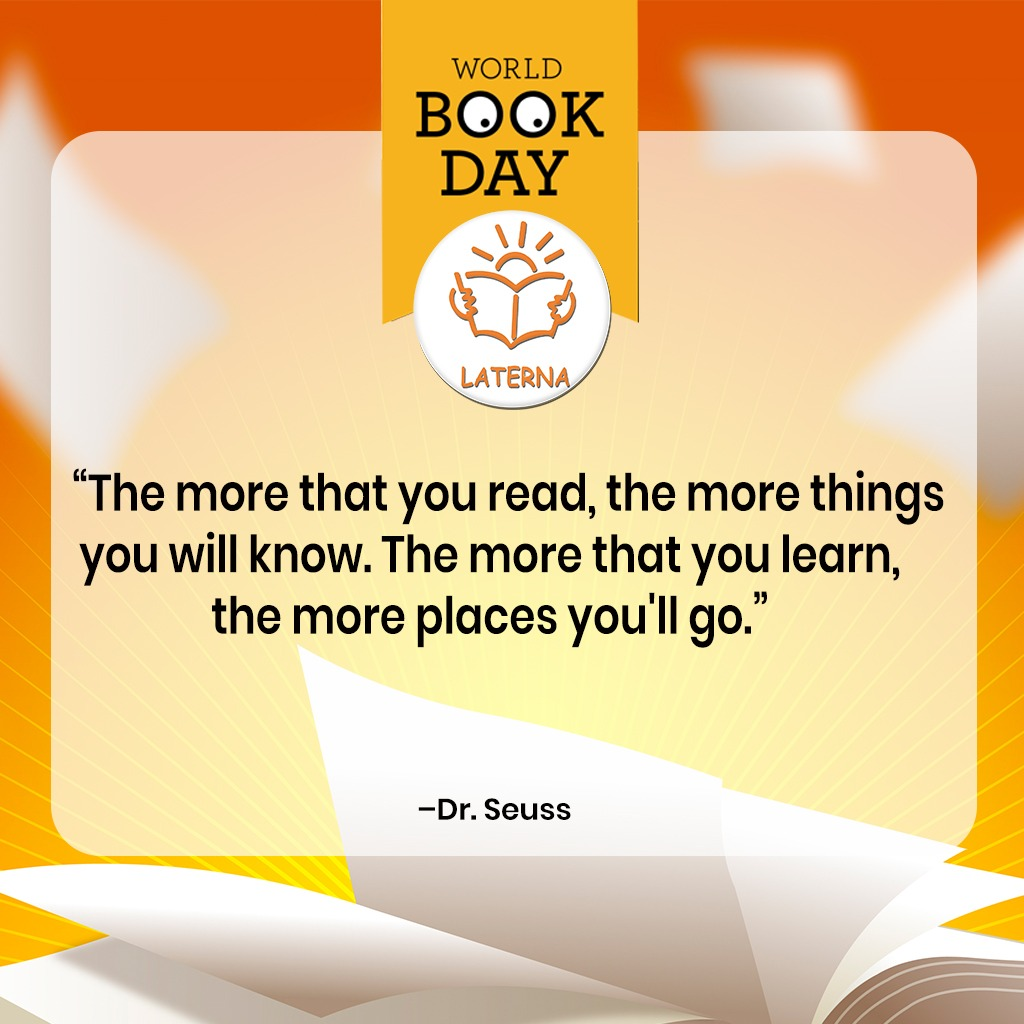 Thursday, March 4, 2021 is World Book Day. Laterna is celebrating this special event by offering a 10% discount on selected children's books.   Please visit  or call/chat us via WhatsApp on 0809 525 3162 or 0809-525 3374 for enquiries.  #worldbookday #books