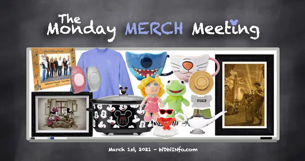 🛍Monday Merch Meeting: Walt Disney Print, MagicBands, Hydrangea Spirit Jersey & More!🛍    #MondayMerch #DisneyMerch