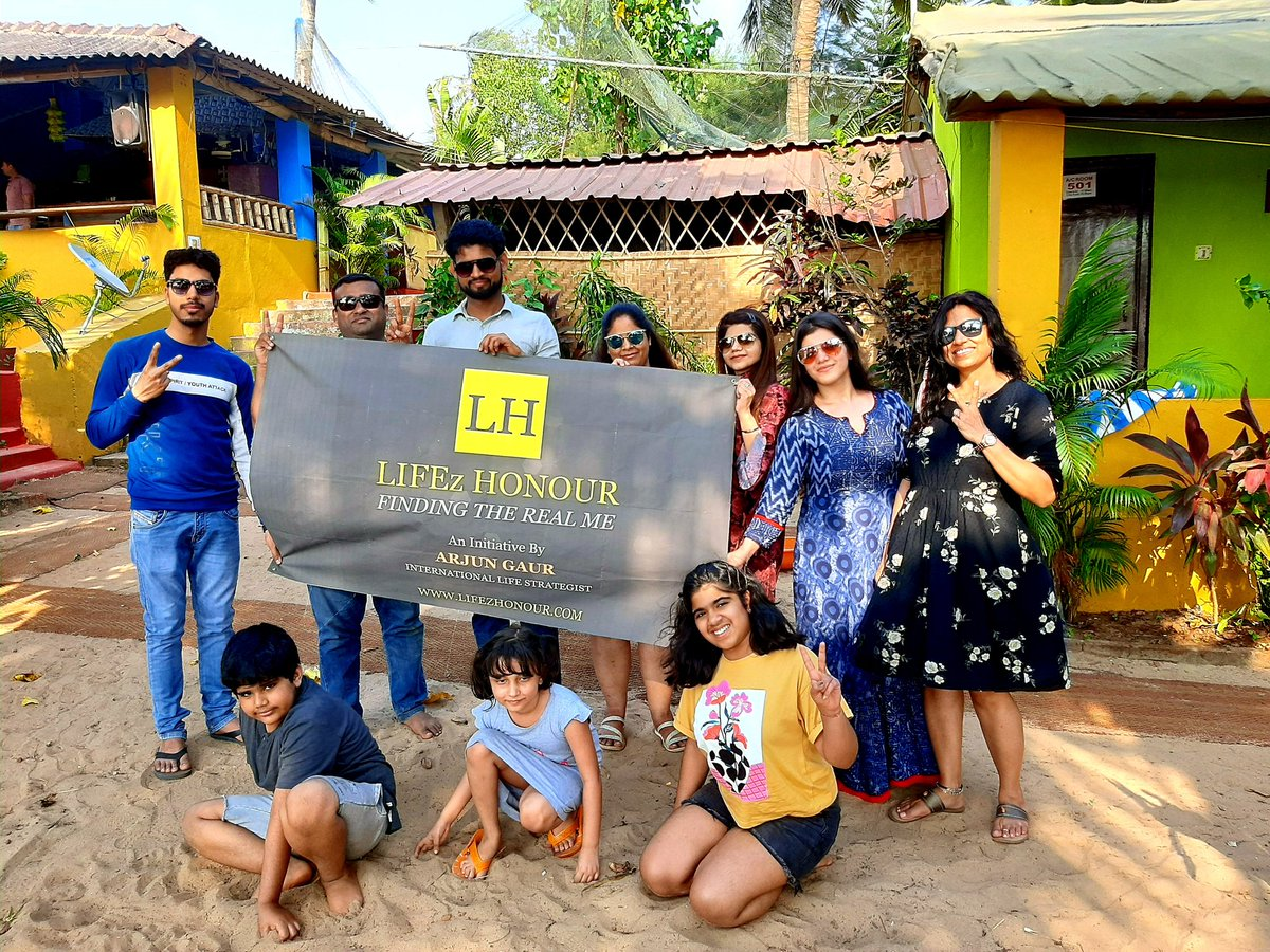 It was an amazing and unforgettable experience with Lifez Honour  family during our 6 days vacation in Goa.  Thank you @goatourisminfo to make goa always better for every tourist. 🙂🙏  #Arjun #lifestrategist #Goa #goatourism #lifezhonourfamily #lifezhonourfamilyvacation