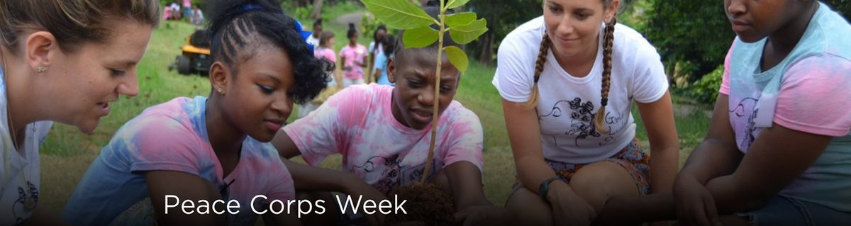 Celebrate 60 years of service this #PeaceCorpsWeek!🎉 Experience the fun with virtual events & stories of service through March 6. See what six decades of @PeaceCorps service looks like here: