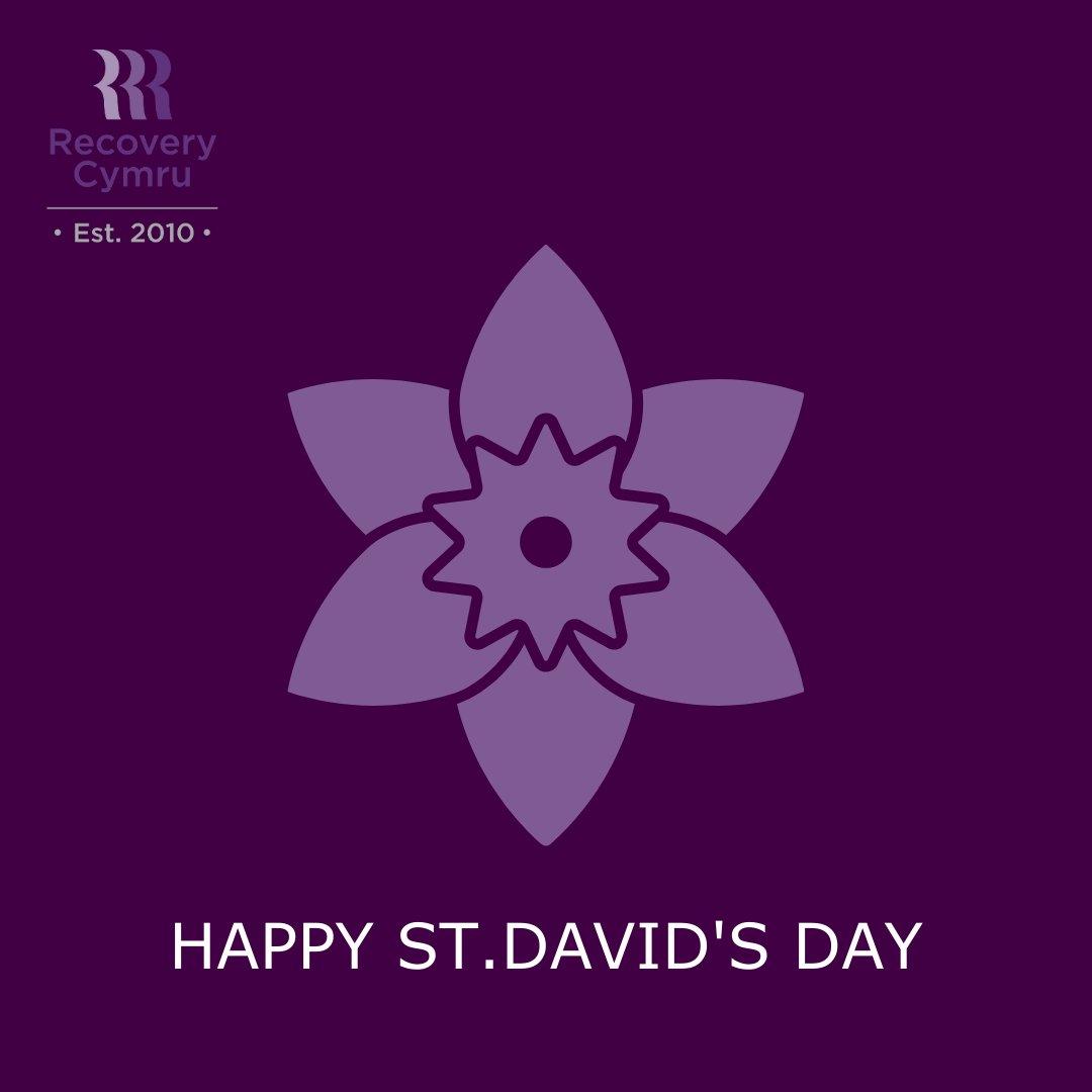 Dydd Gŵyl Dewi Hapus #StDavidsDay #Wales #Celebration #Recovery #Addiction #Mentalhealth #Wellbeing