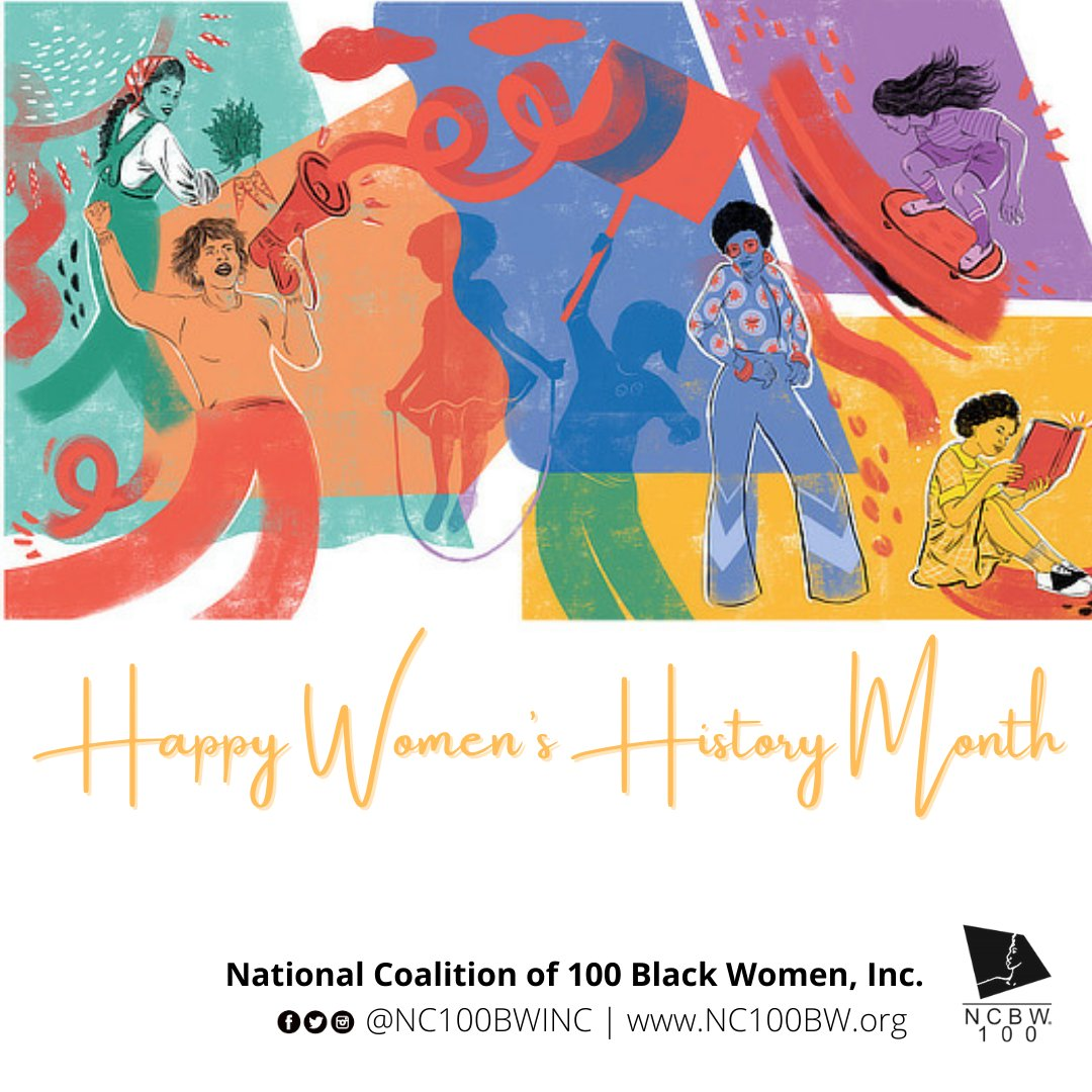 March is Women's History Month! This month we celebrate US — for we all know women are the backbone and the glue that holds this country together 🚺  #NC100BWINC #WHM21 #WomensHistoryMonth #Herstory