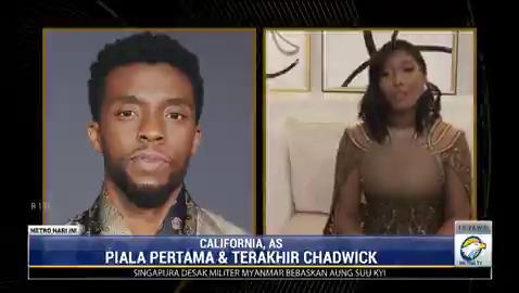 Mendiang aktor Chadwick Boseman meraih penghargaan aktor terbaik dalam ajang Golden Globes 2021. Penghargaan itu dia dapatkan lewat perannya di film Ma Rainey's Black Bottom yang sekaligus menjadi film terakhirnya. #MetroHariIni #KnowledgeToElevate