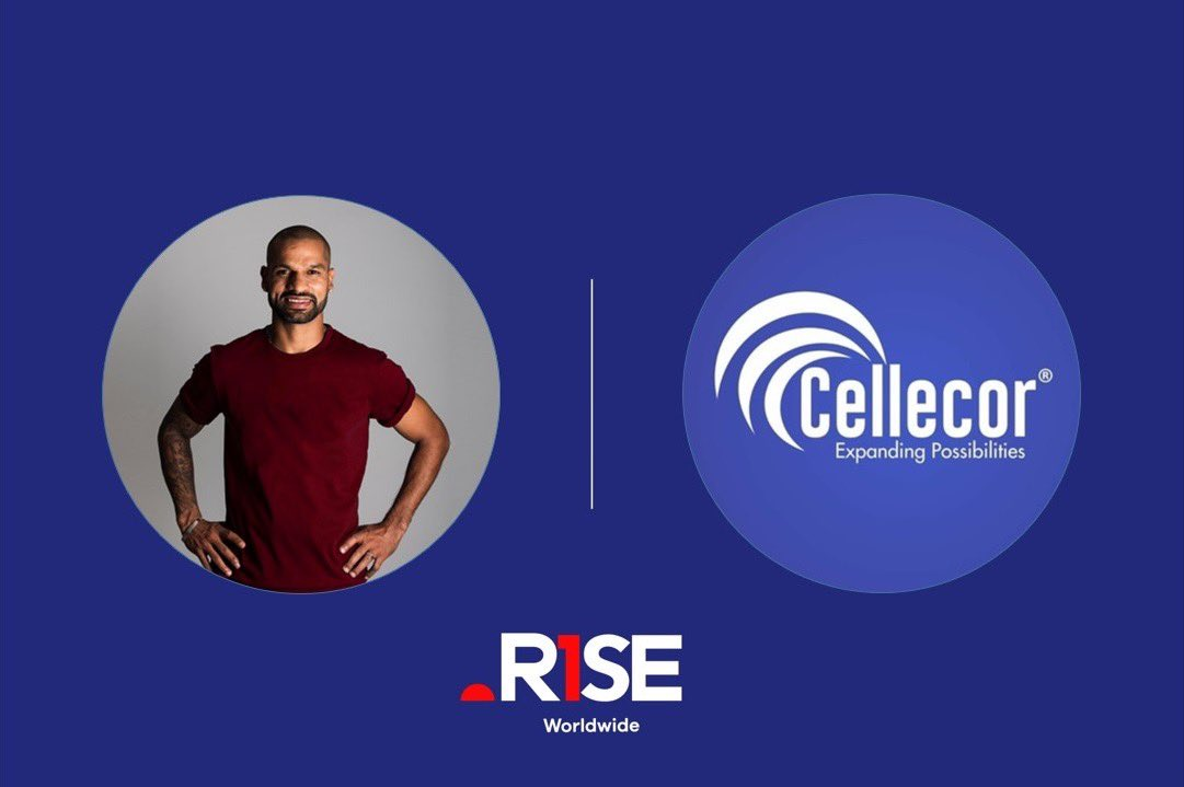 .@SDhawan25 🤝 Cellecor Mobile  We're pleased to announce that our talent Shikhar has signed an endorsement deal with Cellecor mobiles. We look forward to a productive partnership.  #CellecorMobilePhones #Cellecor #RiseAsOne
