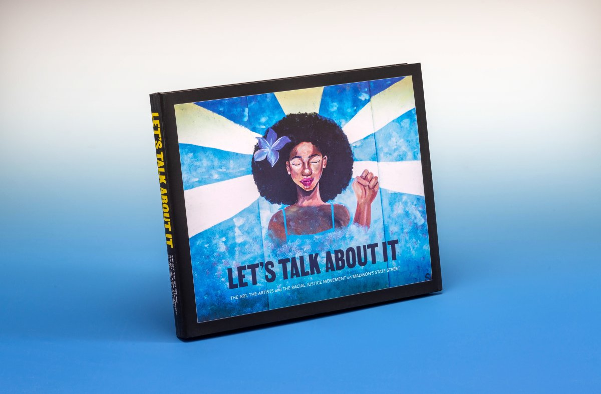 Check out the digital version of 'Let's Talk About It: The Art, The Artists and The Racial Justice Movement on Madison's State Street,' created by @AmFamInstitute. The photo book commemorates the murals painted on Madison's State Street.  #iWork4AmFam