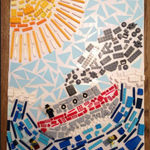 We just love how creative our children are at Blue Coat. This week's Creative Arts task in Prep was to create a mosaic. Originally the brief was to use paper, however, some have been a little more innovative as you can see!