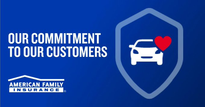 Thank you, @AmFam, for extending premium relief for our auto customers through May 2021!   #iWork4AmFam