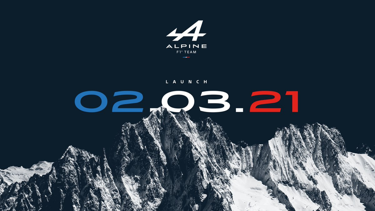 Join us tomorrow to watch our launch event from 15:00UK!  We'll be live on YouTube, Facebook & Weibo with key moments shared on Instagram and Twitter.  ⏰ 15:00 UK 📺⤵️      Weibo >> AlpineF1车队    #A521Launch
