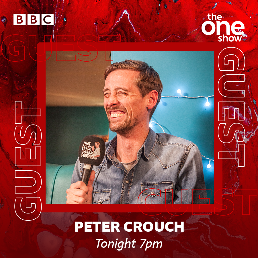 Coming up tonight!🙌  @petercrouch will be joining us to chat about the fifth series of his podcast🎙  Stacey Dooley will tell us about her new BBC series DNA Family Secrets.  📢And we have a big #RedNoseDay announcement!🔴  Don't miss it!  ⏰7pm!   #TheOneShow @ComicRelief