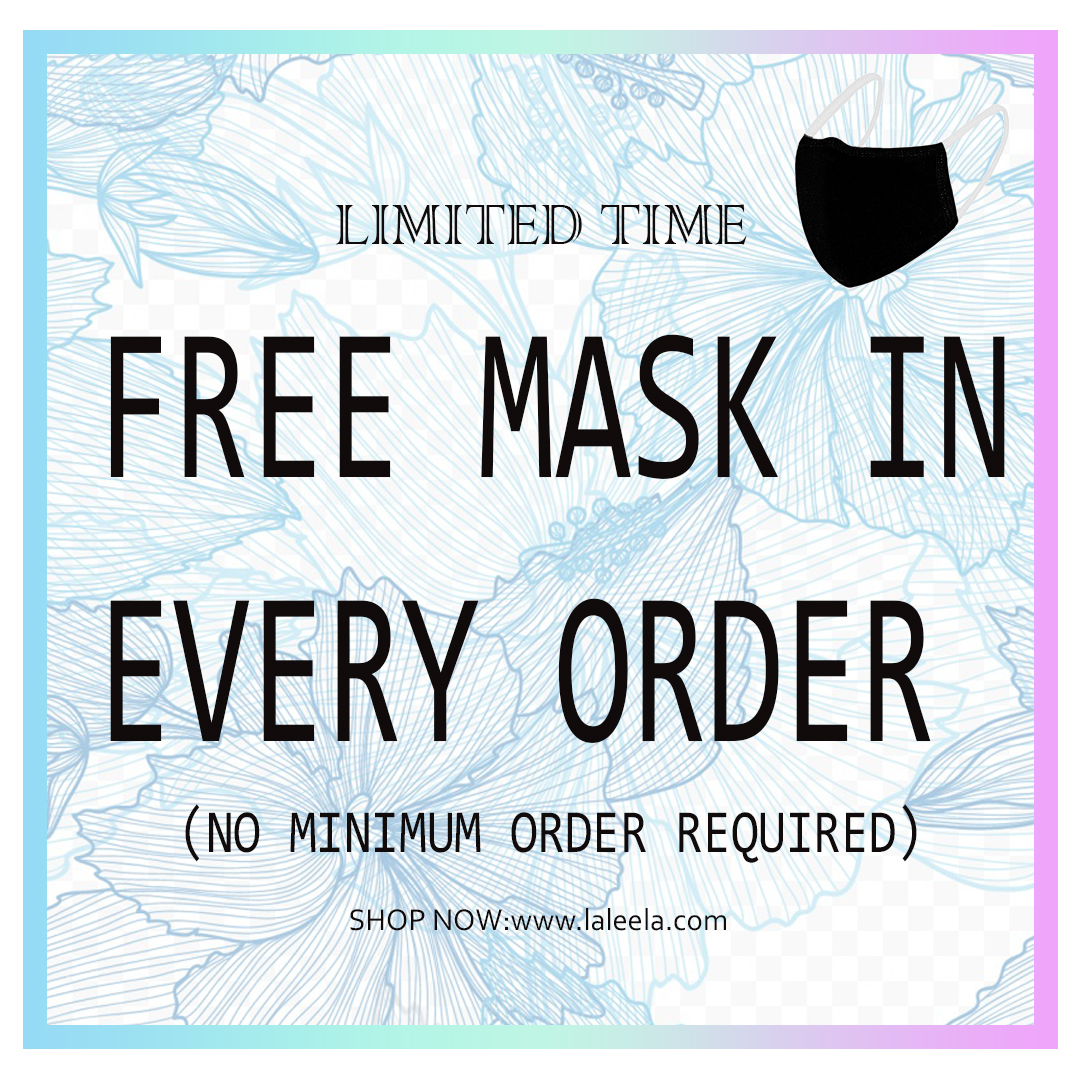 LIMITED TIME✨💃 . Get Free Mask😷 with Every Purchase . (no min order required) . Check out now our website, 👈 . #laleela #new #fashion #sale #newyear #fashion #love #clothing #fashion