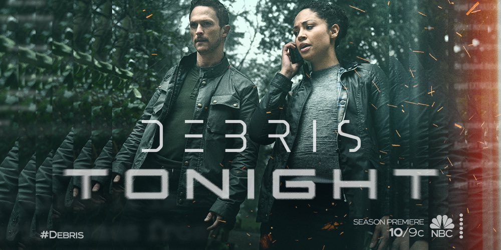 """Replying to @jonathanmtucker: """"To be what we are and to become what we are capable of.""""  #Debris airs tonight on @nbc."""