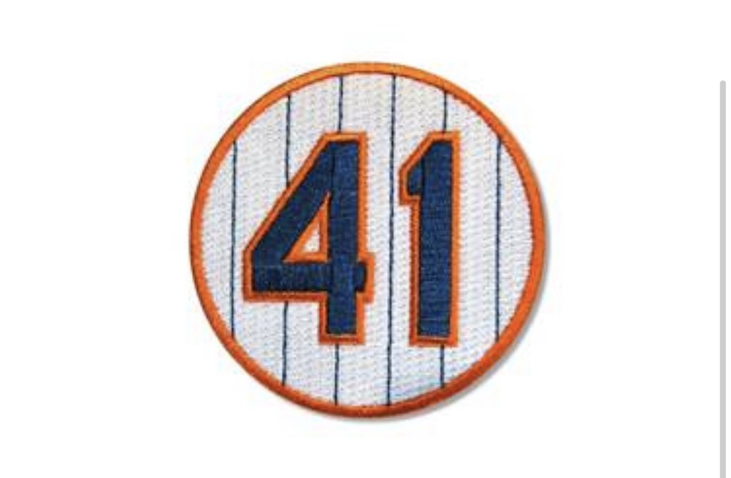 The Mets will wear a No. 41 patch on their right sleeves this season to honor the late Tom Seaver. https://t.co/PHjkDoFypJ