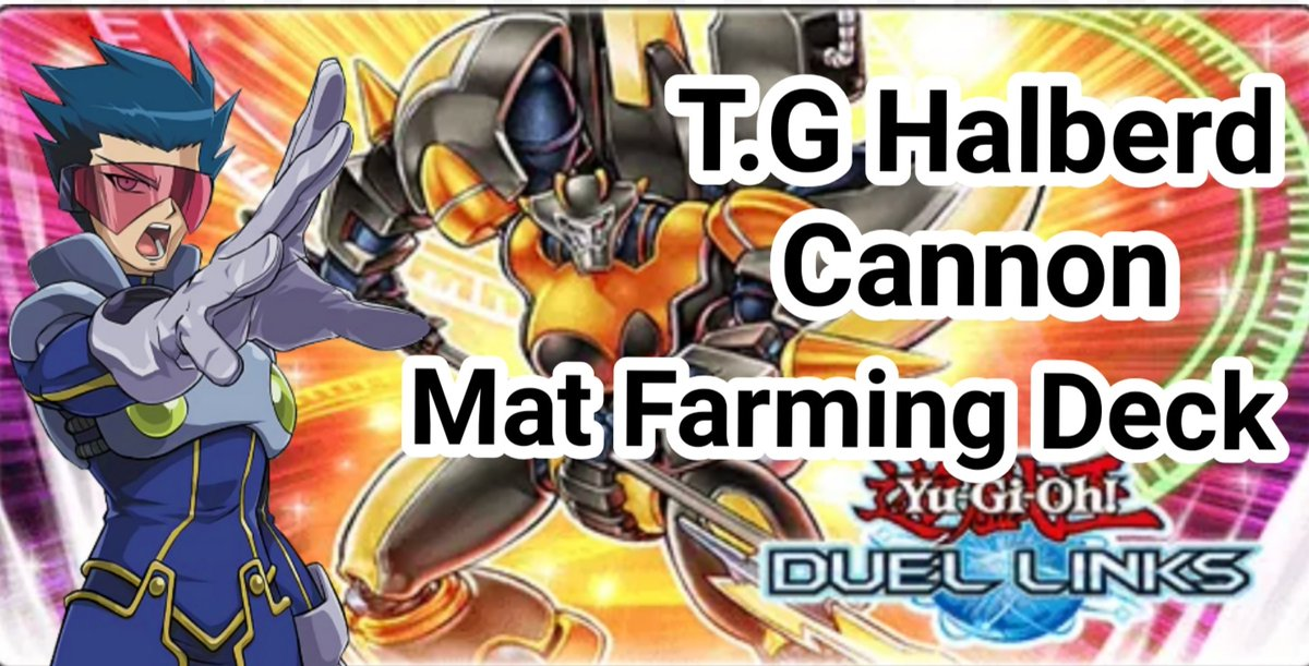 Delta Accel Synchro!!!! Come on!! T.G Halberd Cannon Playmat  #Playmat #yugiohduellinks #TG #Farm
