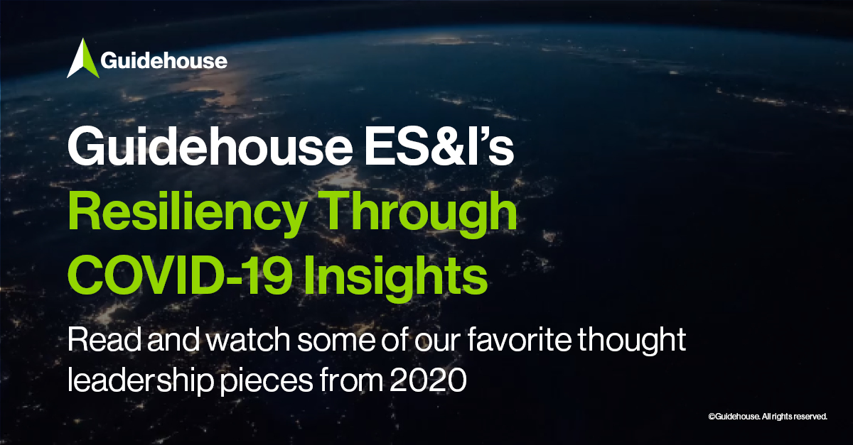 #Hydrogen, #Mobility, #SustainableFinancing, #resiliency through #COVID19, & more! Check out some of @GuidehouseESI's top resiliency thought leadership from 2020. Comment on your favorites below.  #newyear #2020wrapup #thoughtleader