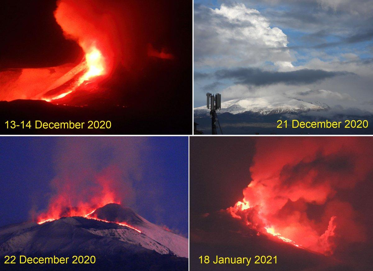 A summary of #Etnas eruptive activity since December 2020 @EUROVOLC facebook.com/permalink.php?…
