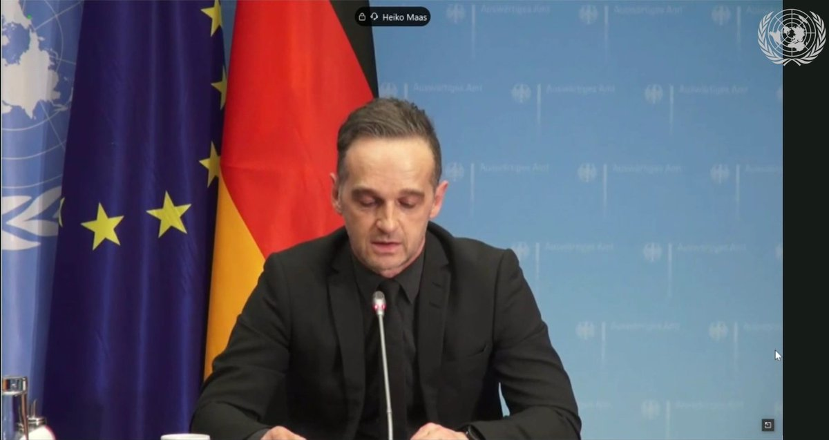 """At todays High-Level Pledging Event on #Yemen @HeikoMaas announced 200 million euro for the Yemen Humanitarian Response Plan: """" It is the worst humanitarian catastrophe of our times. What is even more devastating: the human suffering caused by the conflict is entirely man made."""""""