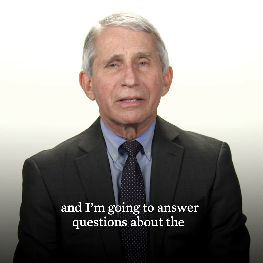 On Saturday, the FDA issued an emergency use authorization for the Johnson & Johnson COVID-19 vaccine. Dr. Fauci sat down to answer your questions.