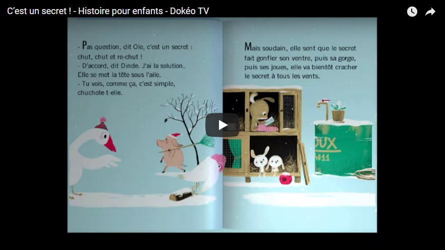 #Students, use this #French Guided #Reading With Video to help you with your pronunciation. C'est un Secret - Histoire pour...   #Language #Learning #Education #skills #dreams #onlineFrenchcourses #homeeducation #IGCSEonline  #Alevel #WednesdayWisdom
