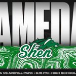 Image for the Tweet beginning: Reminder - @ShenHoops Senior Night