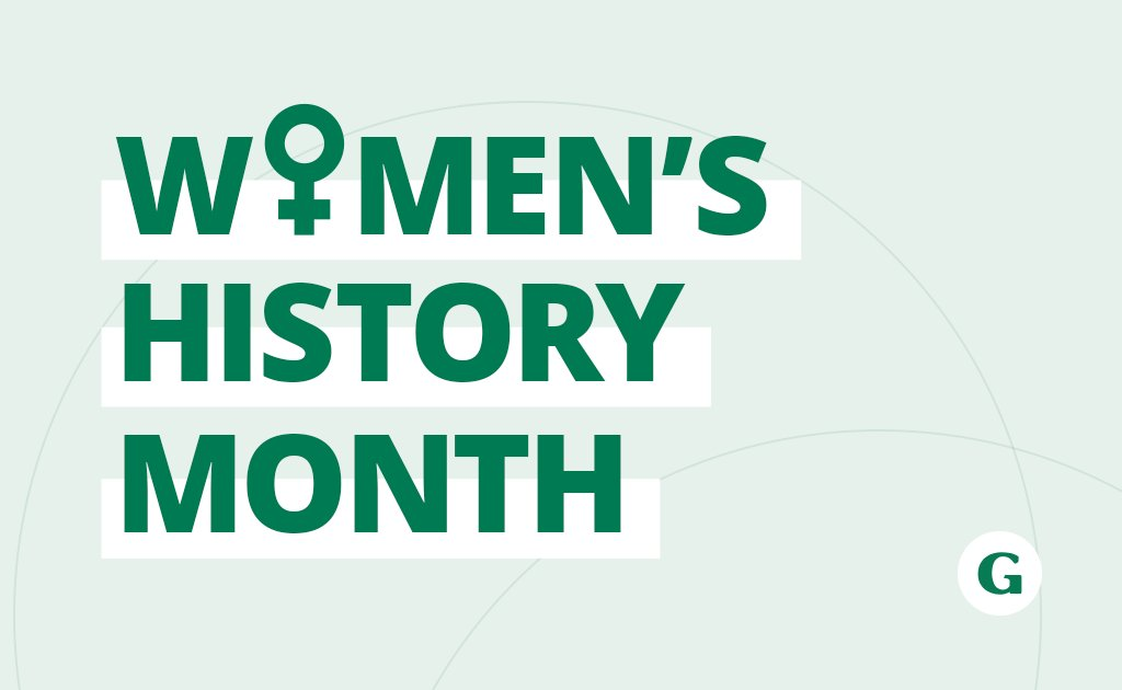 Happy Women's History Month! We celebrate women all year long, but this month we're doubling up. At the center of every new frontier and world-changing movement is a woman. #WomensHistoryMonth #WMH #WHM2021