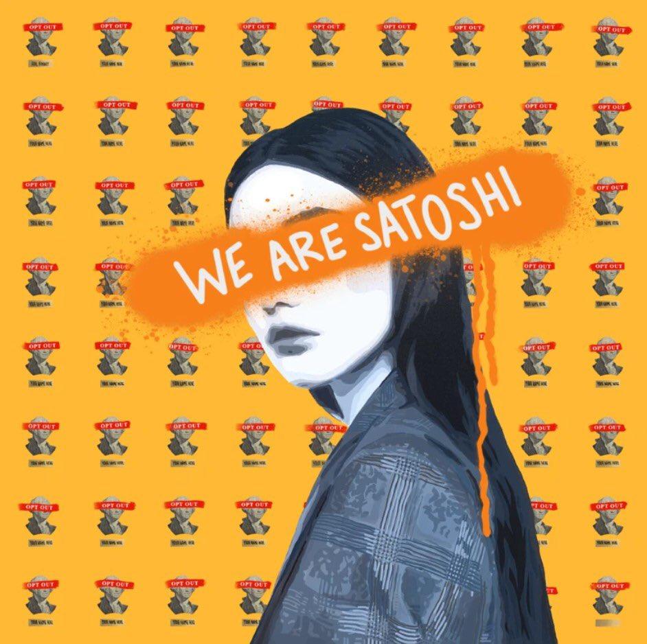 #BTC we are satoshi #stacksats #IWD2021 #NFTs #BinanceSmartChain #SatoshiNakamoto #todayincrypto #nifty #getschwifty bull run and moon 🌝