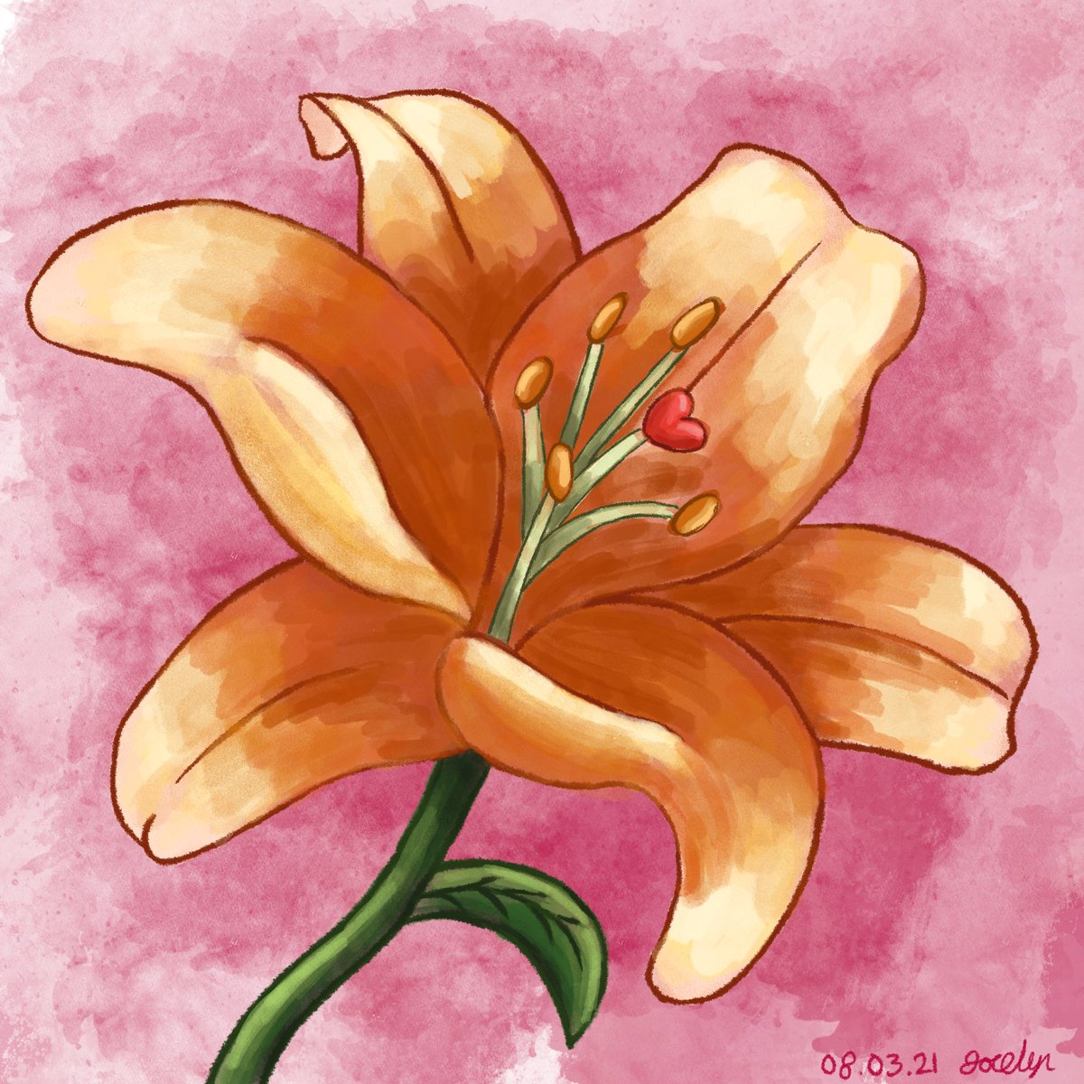 Drew this for my Grandma as a present for Mothers Day #art #artist #drawing #MothersDay #Flowers