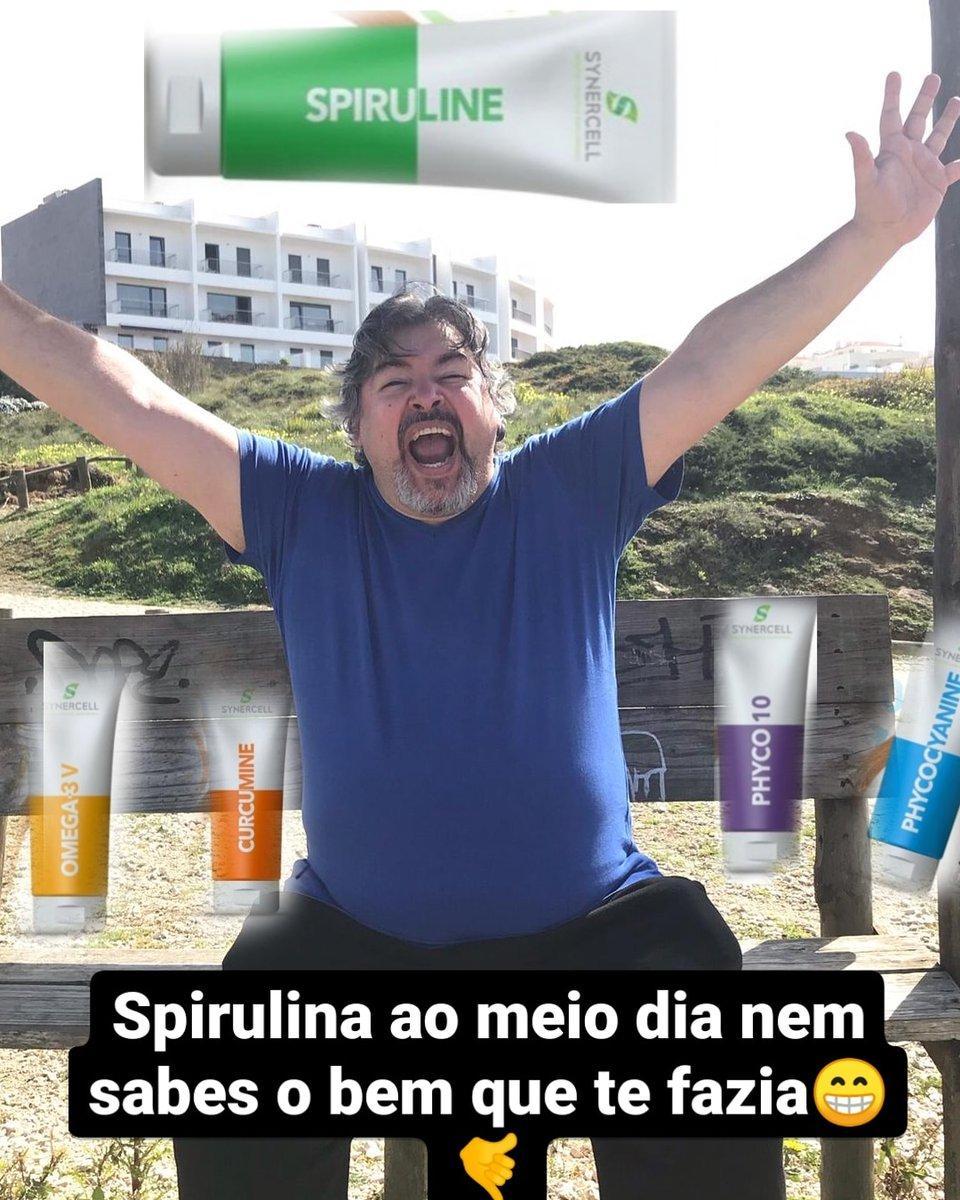 Spirulina é vida!!!!  #synercell #saúde #supplements #goodlife #workout #dreams #spirulina #magnésio #atletadecristo #mar #gratidão #familia #estamosjuntos.