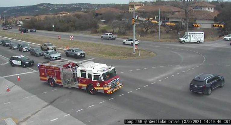 A crash at Loop 360 & Westlake has cleared. Drive safe! #ATXtraffic