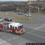 Image for the Tweet beginning: A crash at Loop 360