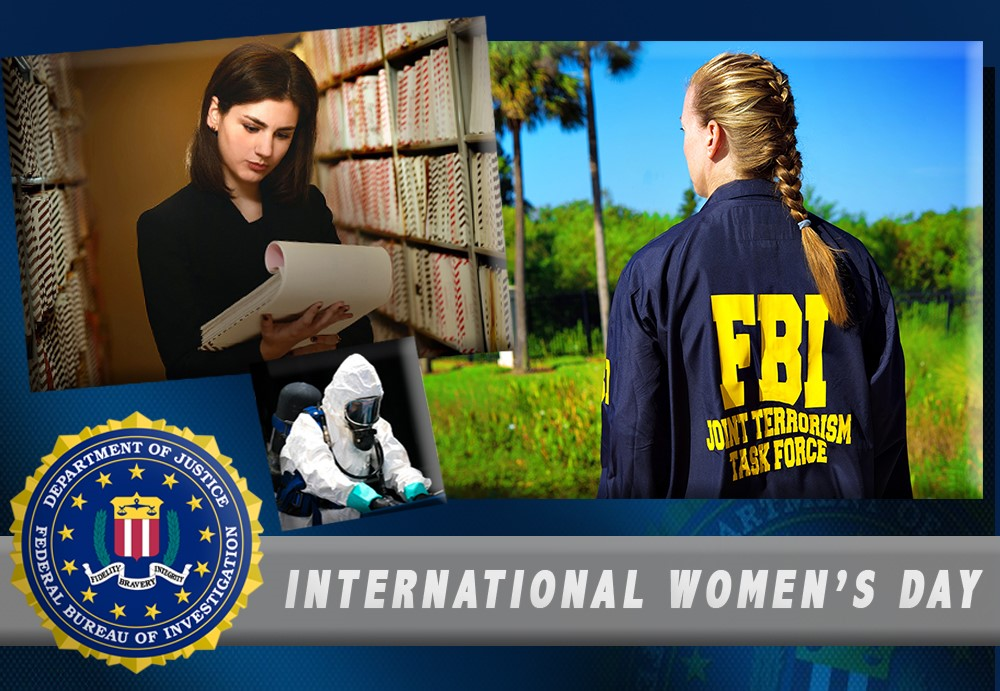 On this #InternationalWomensDay, we recognize all the women of #FBITampa for their hard work and support of the mission: To protect the American people and uphold the U.S. Constitution.