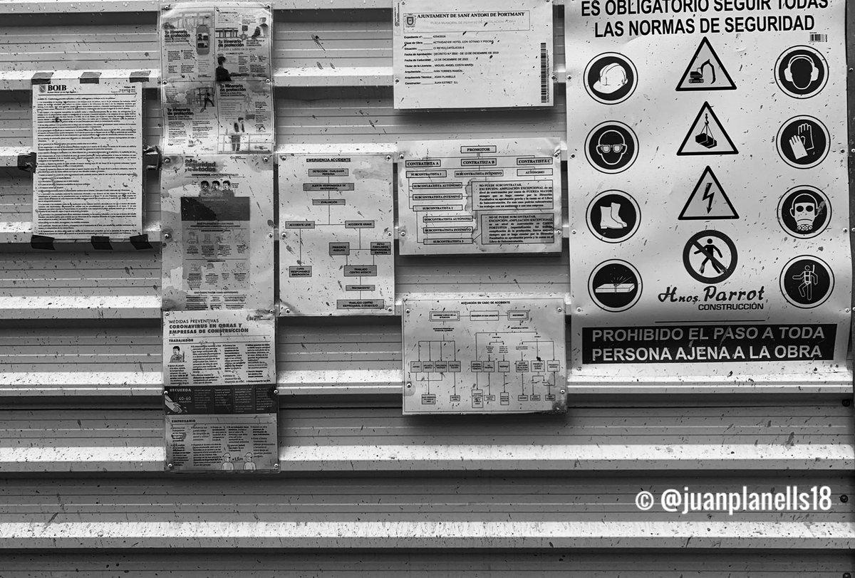 #eldetalleconstructivo #aparejador  #juanplanells18 #aparejadoras #ibiza #aparejadores #arquitectotecnico #editorial #construccion #civilengineer #instalike #photooftheday #cgate #bau #obras #fotosdeobras #ibiza #photography #builder #posters #hnosparrot #ivantorresarquitectos