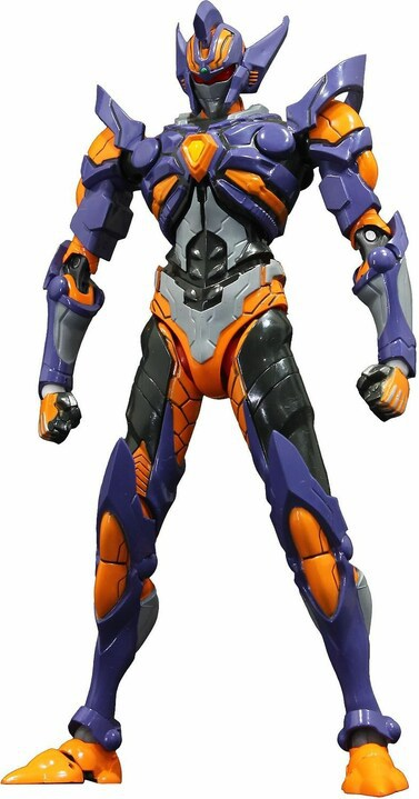 A brand new HAF action figure by Evolution Toy of #Gridknight from #SSSSGridman takes the stage! The figure's distinctive proportions have been recreated and it comes with articulated parts, as well as parts for the Gridknight Calibur.  💎 PREORDER NOW 💎
