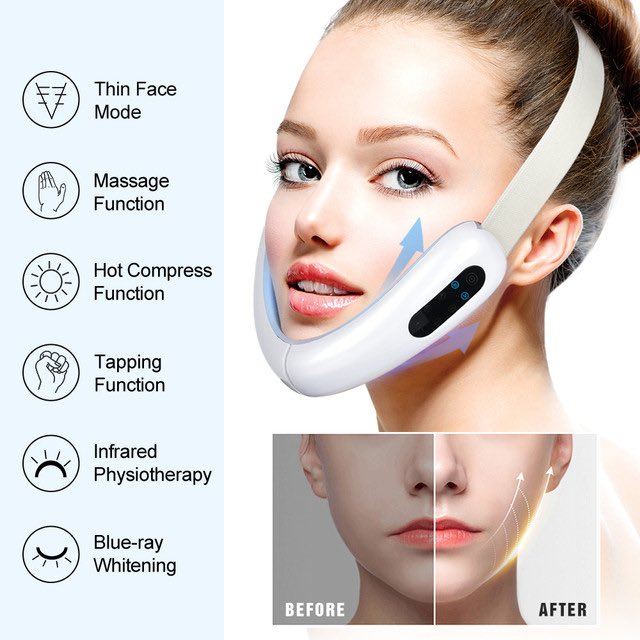 A Photon Therapy Face Slimming Vibration Massager which can reduce double chins and give you healthier, firmer and brighter  #hair #l4l #nofilter #swag #dogs #girls #sun #beauty #cool #f4f #sky #vsco #music #pretty #amazing #life #sunset #photo #vscocam #beach #style #party #lol