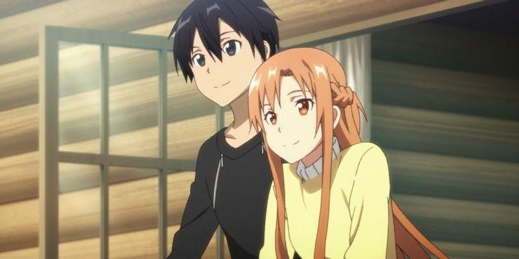 """""""Yo no voy a morir. Porque soy quien te protegerá"""" ❤️  Asuna a Kirito de #SwordArtOnline ⚔️  #NeoAnimeZ #Anime #Manga #BuenasNoches #FelizLunes"""