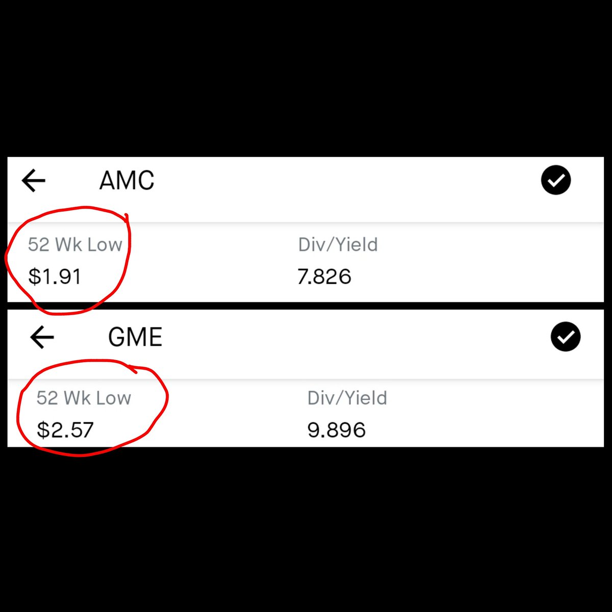 If they both had a similar start why TF aren't we in the hundreds with them?  #amc #amcstock #AMCtothemoon #amc1000 #GameStop #gme #wsb #Bitcoin #dogecoin #doge #Dogecoinarmy #dogecoins #HoldTheLine #DiamondHands https://t.co/CQlV6UaMMd