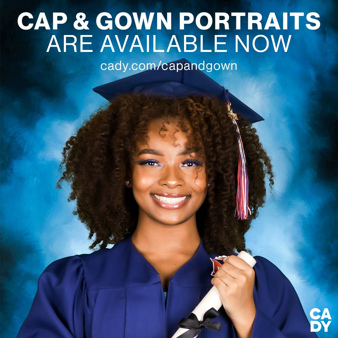 Cap & Gown portraits are now available for purchase! Check your mailbox and email for portrait proofs or login to your account at  #GoBucs #AnchoredInExcellence #BucNation @cobbschools