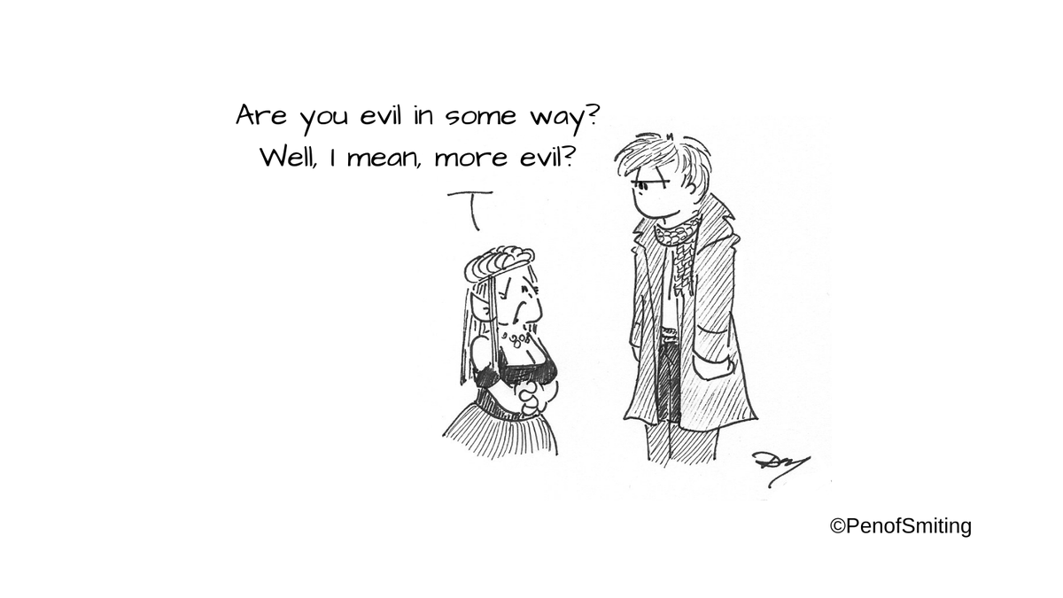 """""""Evil Is As Evil Does"""" (or """"Inquiring Minds Want To Know!"""") #CriticalRole #criticalrolefanart #Veth #CalebWidogast"""