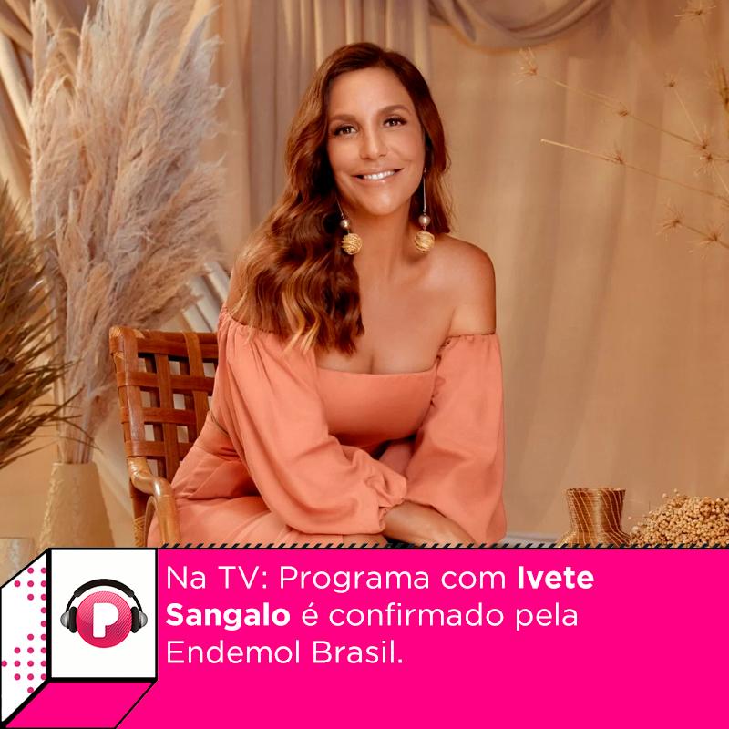 Tá pronto para ver mais @ivetesangalo na TV?  Segundo a CEO da Endemol Brasil, há sim um projeto em andamento com a cantora baiana, mas ainda não se sabe data de estreia e nem em qual TV (ou plataforma de streaming) ele irá ser exibido.  Saiba mais: