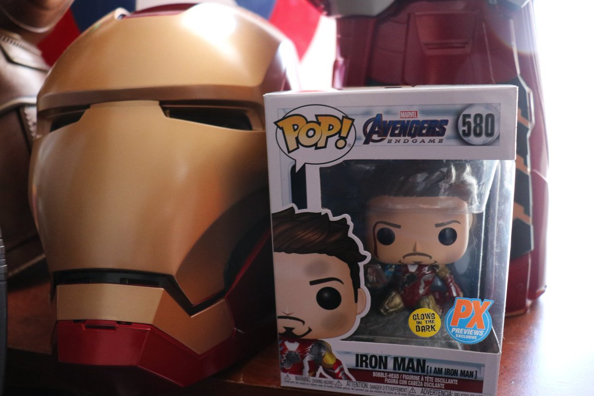 Got a special pop in the mail today and all I can say is I Love it 3000 📦❤ #ironman #Marvel #Funko #FunkoPOPNews #MarvelStudios #AvengersEndgame #Avengers #Fantastico THANK YOU FOR TODAY #Amazing