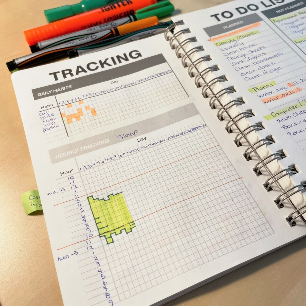 I love looking at my daily tracking page every Monday. I can see where I've improved & what I need to work on. Do you have daily habits you want to build? Try the Clever Cactus planner.  #clevercactus #plannerlove #habits #planneraddict #mondays #goals