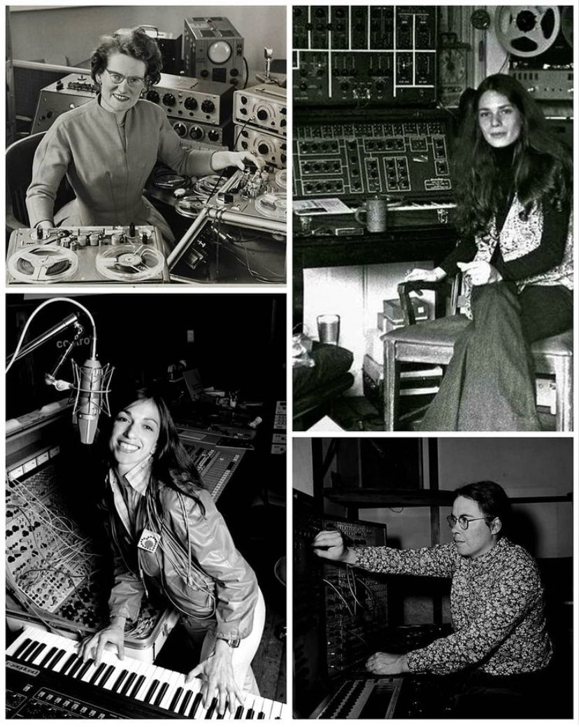 🎛🎚 Electronic Music Pioneers!✨ #IWD #internationalwomensday #8m