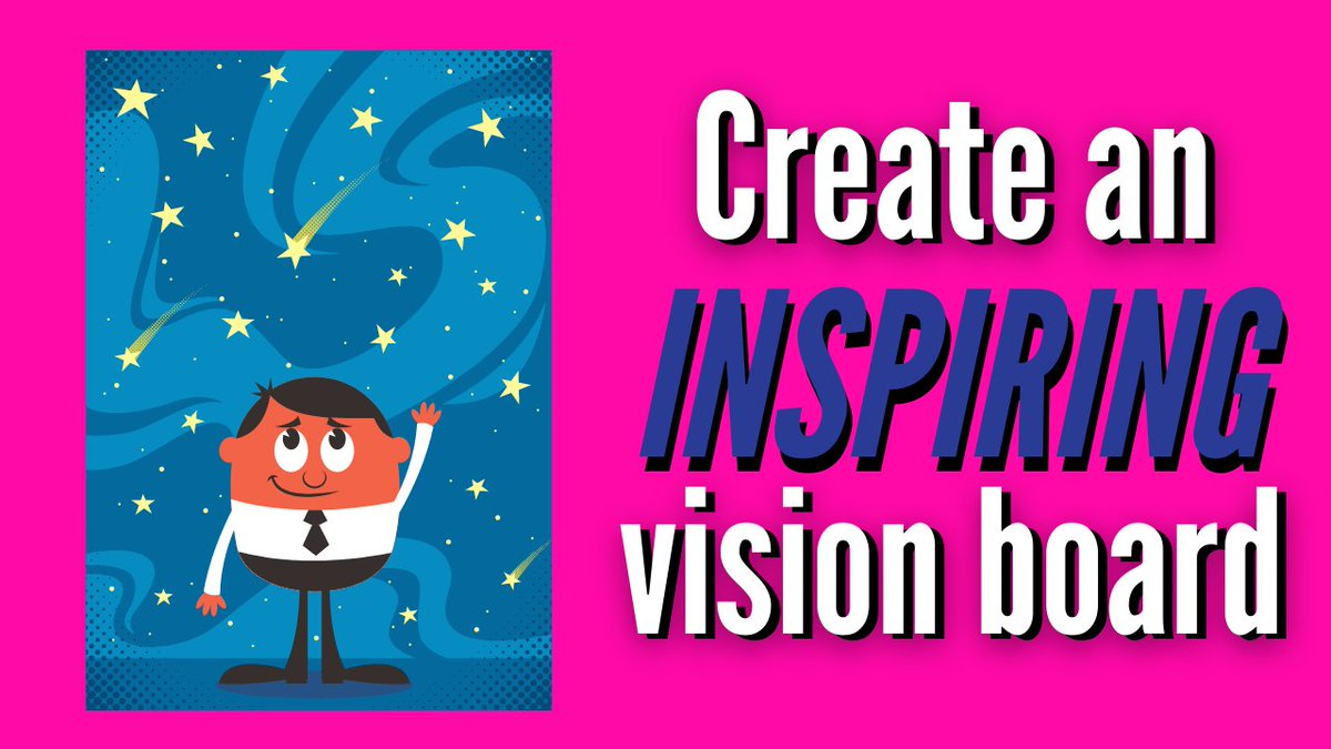 Create an inspiring vision board to keep your goals in front of you and increases your likelihood of reaching them. Learn more ~  #Goals #Motivation