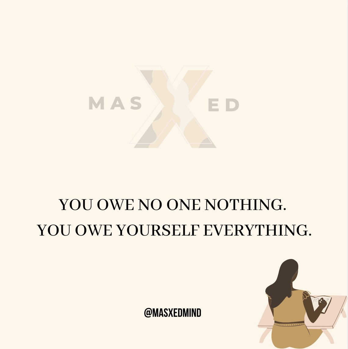 You picked yourself up when you was broken, you faced your fears when you was terrified, you still kept going even though you felt like giving up, YOU DID THAT!  M A S X E D 🗝  #selflove #selfcare #happiness #trauma #positivity #growth #affirmations #growth #mentalhealth